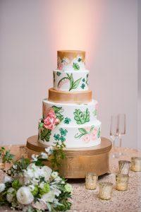 cindas cake at ncma wedding