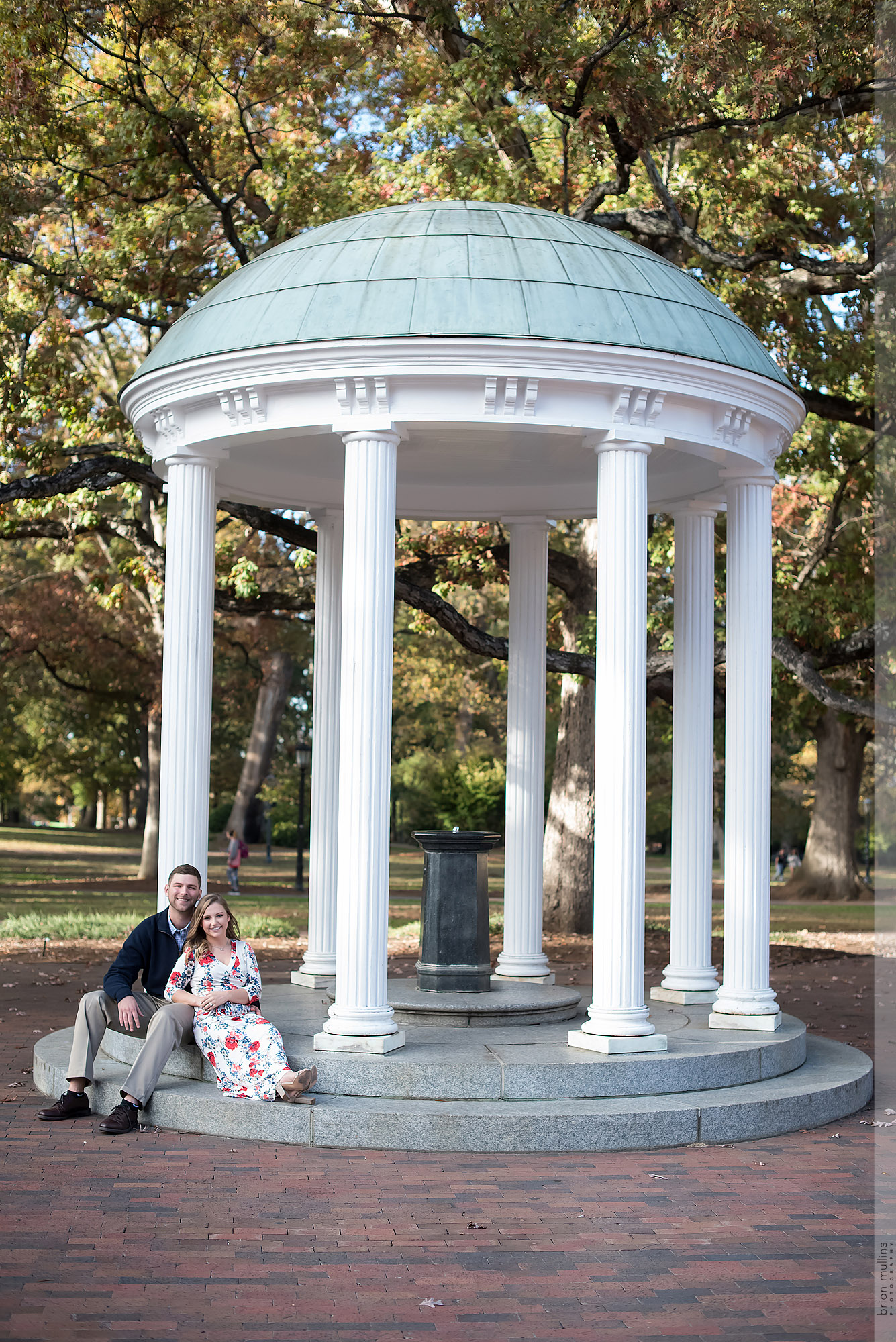 UNC Engagement session | Maddie & Jason