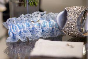 UNC themed garter