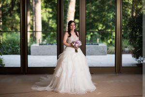 umstead hotel bridal portrait