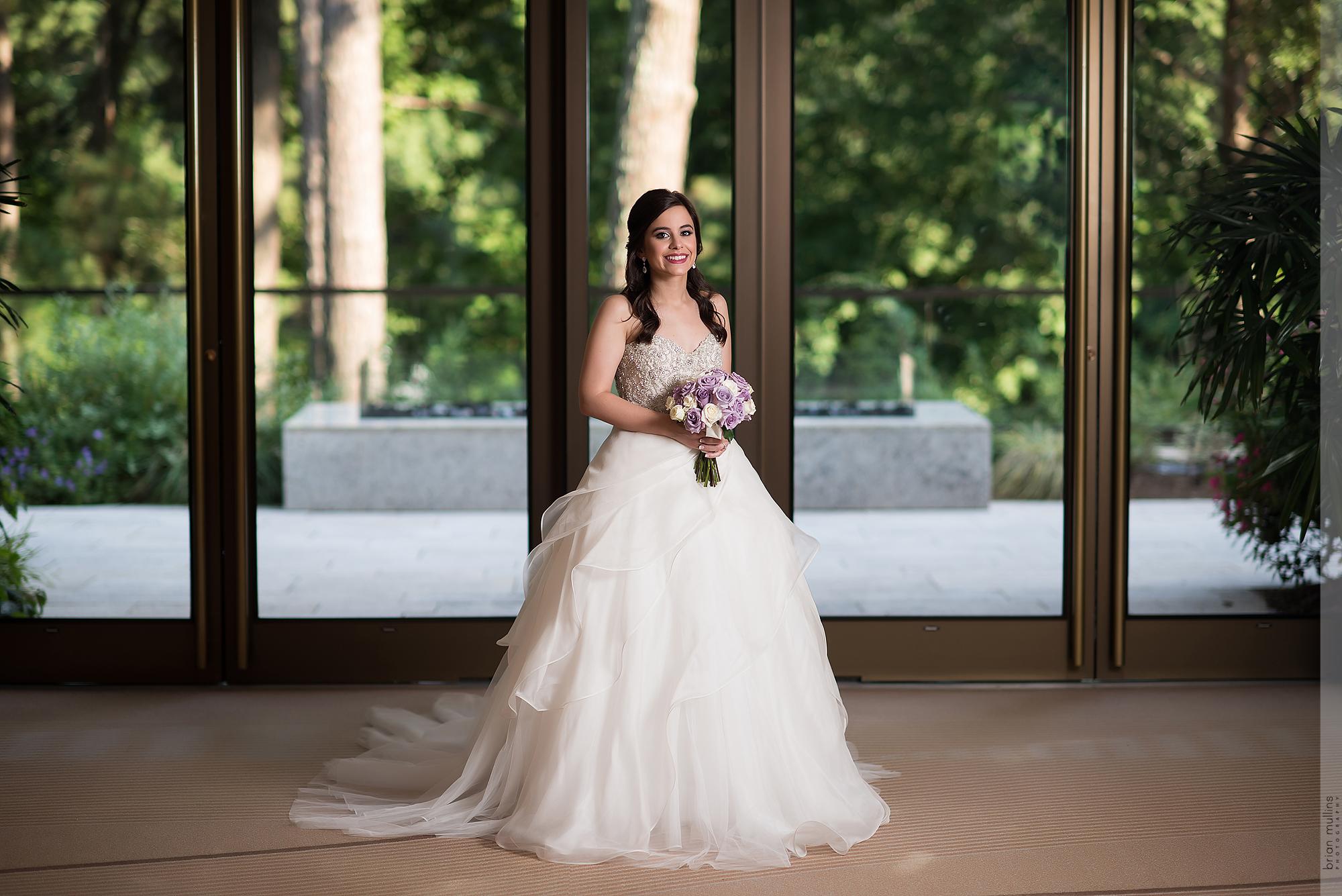 Umstead Hotel Bridal Portrait | Sara