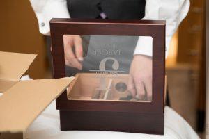 groomsmen gift personalized cigar humidor